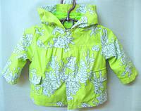Куртки, ветровки, жилетки для малышей