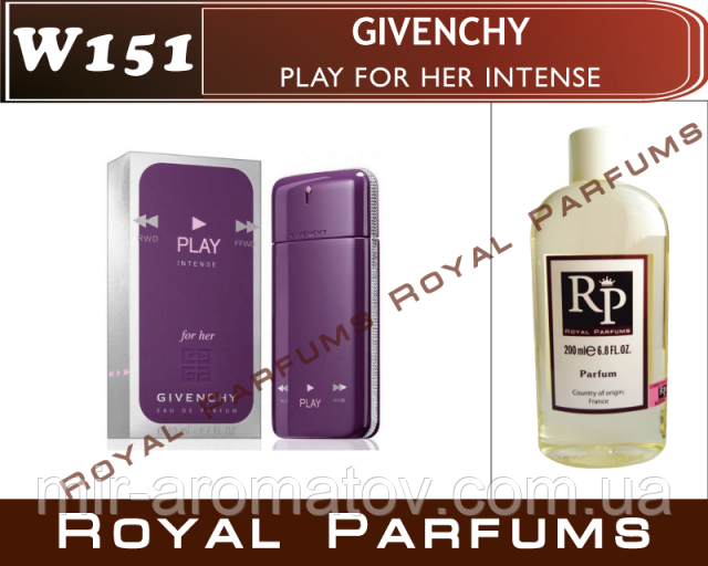 Женские духи на разлив Royal Parfums     Givenchy «Play For Her Intense»   №151  50 мл