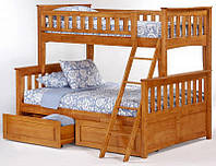 Кровать двухъярусная Жасмин бук