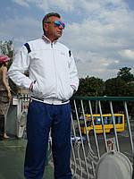 Спортивный костюм мужской Hugo Boss  микрофибра Турция осень белый