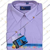 Детские рубашки в клетку Длинный рукав в ростовке 4 цвета (Ворот: 28- 36) (vr71)