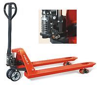 Ручная гидравлическая тележка для паллет Niuli CBY-DF2.5T, грузоподъемность 2500 кг, вилы 1150/550 мм