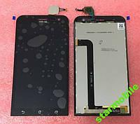 Дисплей для мобильного телефона Asus Zenfone 2 Laser/ZE550KL, черный, с тачскрином, ORIG