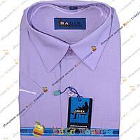 Стильные подростковые рубашки с коротким рукавом (Ворот: 29- 36) (vr51-B)