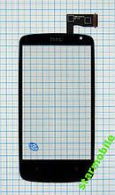 Сенсорный экран для мобильного телефона HTC Desire 500, черный,(high copy)
