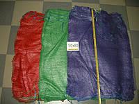 Сетка овощная 50*80 до 40кг (1000шт) зеленая, фото 1