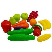 Набор фрукты-овощи Орион 379 (16 предметов)