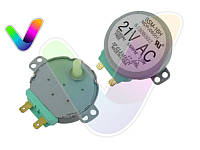 Оригинал. Двигатель M2HJ49ZR02 для микроволновой печи Samsung код DE31-10154D