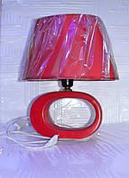Лампа настольная, 1лампа, высота лампы - 35 см, диаметр абажура - 29.