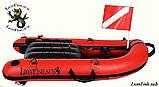 Буй Плот LionFish.sub Мини Лодка (90см) для подводной охоты, фото 8