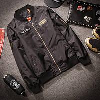 Мужская Летная куртка MA1 черная 54р.