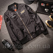 Чоловіча Льотна куртка MA1 чорна 54р.