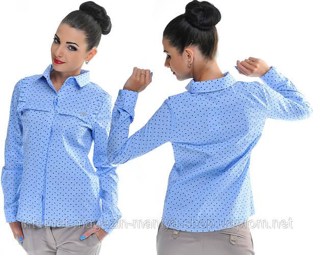 Рубашка женская принт