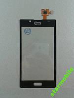 Сенсорный экран LG P700/P705/L7, черный, AAA