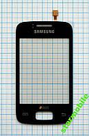 Тачскрин/Сенсор Samsung S6102 черный оригинал