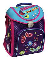 """Превосходный школьный рюкзак-трансформер 14"""" для девочки """"Fashion"""" Cool for school (CF85654) фиолетовый"""