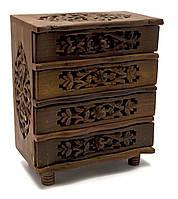 Комод деревянный для украшений