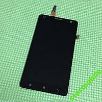 LCD Дисплей+сенсор Lenovo S856 черный оригинал
