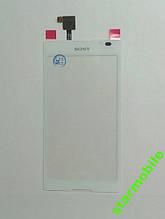 Тачскрін Sony C2305/S39h/Xperia C,білий, AAA