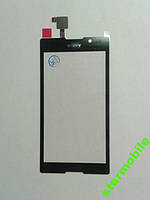 Тачскрин Sony C2305/S39h/Xperia C, черный, AAA