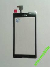 Тачскрін Sony C2305/S39h/Xperia C, чорний, AAA