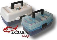 Ящик Aquatech1702 (2-полочный) с прозрачной крышкой, фото 1