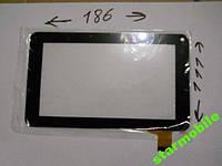 Сенсорный экран для планшета GoClever TAB R70 (111*186), черный