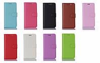 Кожаный чехол книжка для Huawei Y6 II (Y6 2) 9 цветов