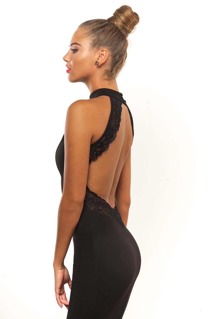 Вечернее платье с открытой спиной от Lusien V2-0815, фото 1