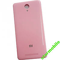 Задняя крышка Xiaomi Redmi Note 2 розового цвета