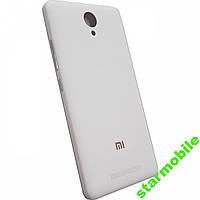 Задняя крышка Xiaomi Redmi Note 2 белого цвета