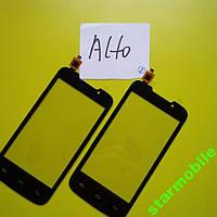 Сенсорный экран для мобильного телефона Explay Alto, черный, ORIG