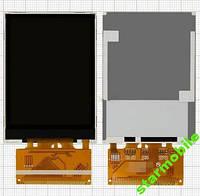 Дисплей для мобильных телефонов Fly DS123; Explay SL240, оригинал, 37 pin, #160000454/160000098/FPC2408-1