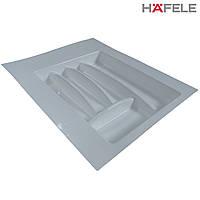 Лоток для столовых приборов белый Hafele (Германия) в ящик 400-450 мм. 402х498, фото 1