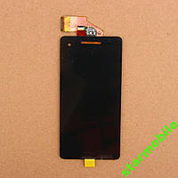 Дисплей для мобильного телефона Sony LT25i/Xperia V, черный, с тачскрином