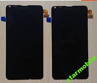 Дисплей Microsoft Lumia 640, черный, с тачскрином