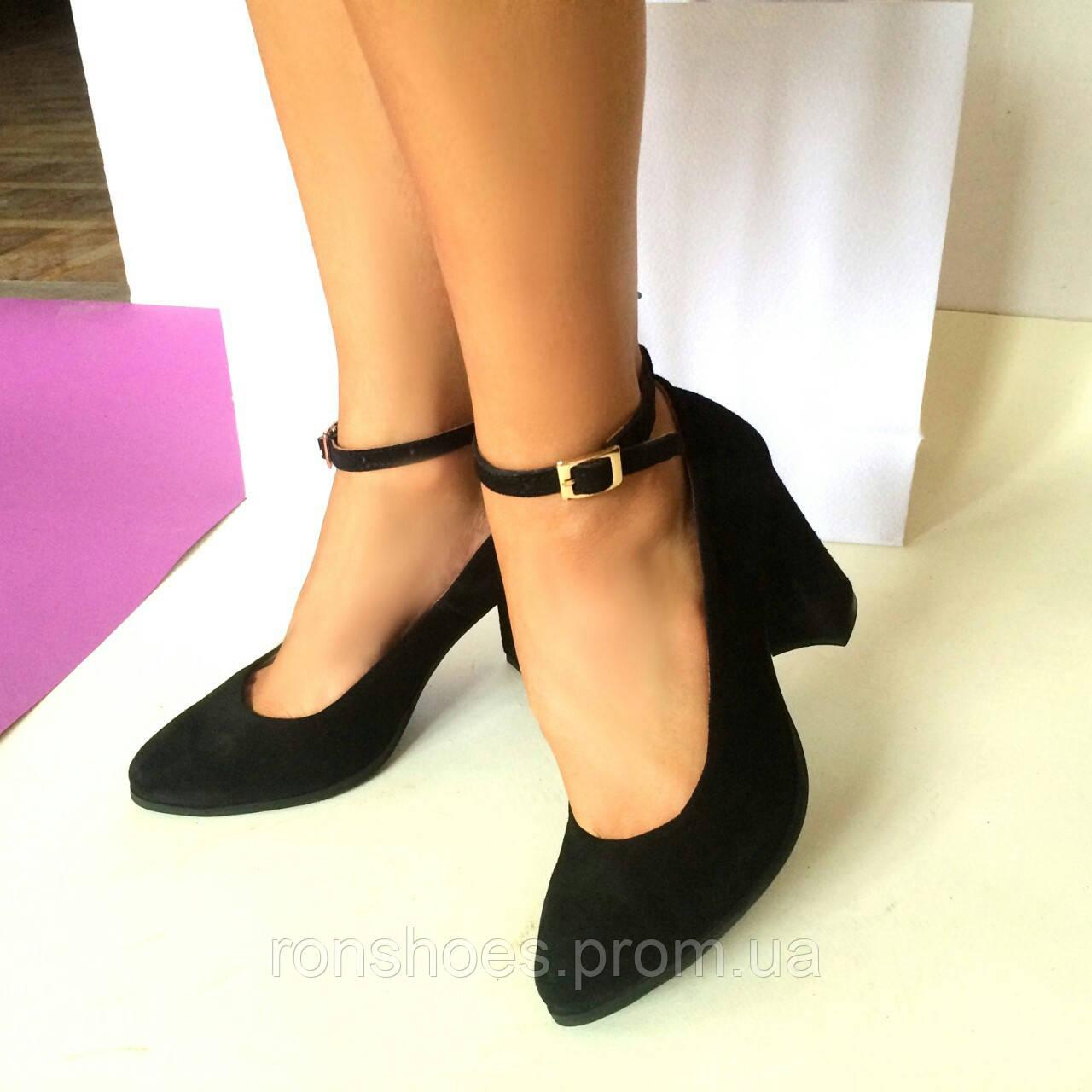 9e124a9499df Купить Стильные женские туфли от TroisRois из натурального турецкого замша  в ...