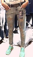 Рваные турецкие джинсы