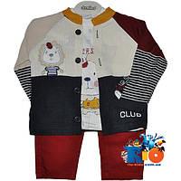 """Детский оригинальный костюм """"Club"""" , для мальчика от 6-9 мес"""