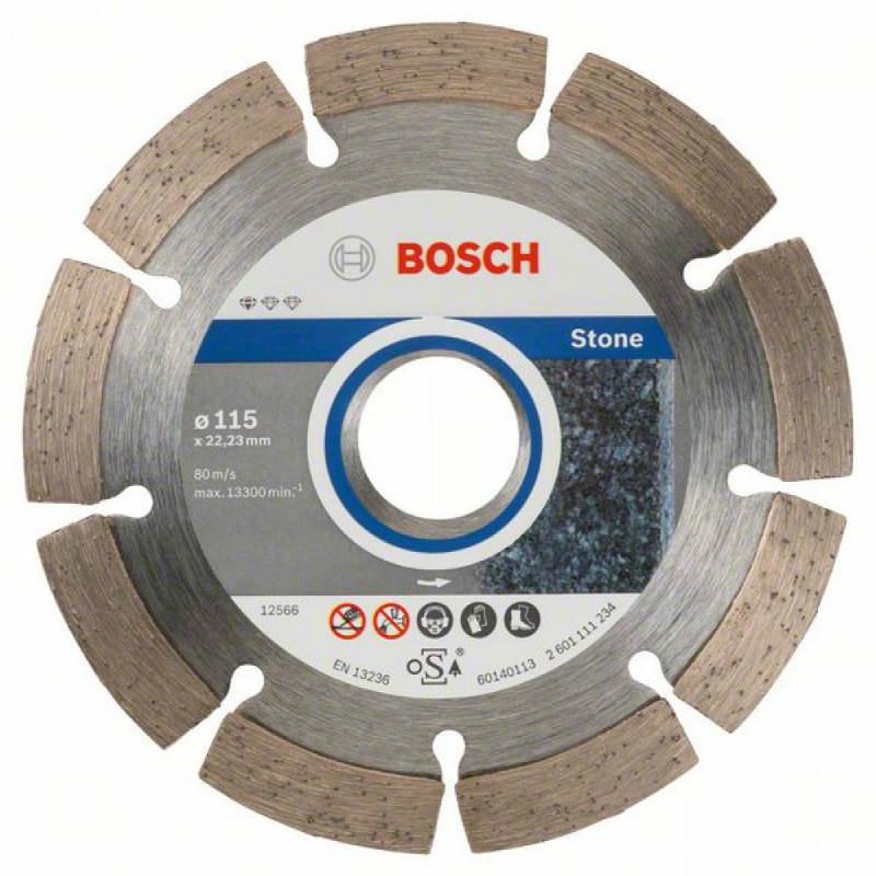 Алмазный отрезной круг Bosch Standard for Stone115x22,23, 10 шт в уп.