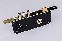 Корпус врезного замка большой 6005R-3R СP 85 мм хром