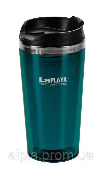 Термочашка La Playa Mercury 0.42 л синяя