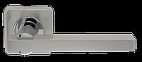 Ручка дверная Orbis SQ004-21SN/CP-3 матовый никель/хром (Armadillo)