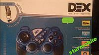 Игровой джойстик Dex PC-852S USB  ПК синий