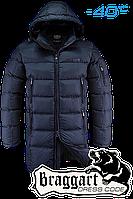 Удлиненная мужская зимняя куртка Braggart арт. 2762