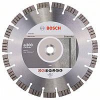 Алмазный отрезной круг Bosch Best for Concrete300x22,23