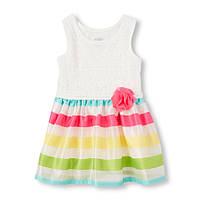 """Платье """"Весёлая радуга"""" 3-4 года США"""