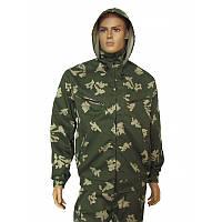 Камуфляжный костюм для охоты и рыбалки березка с капюшоном
