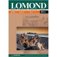 Фотобумага Lomond матовая ( формат А3 плотность 230 г/м2 односторонняя матовая ) 50 листов