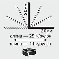 """Угол отделочный универсальный в рулоне """"Декопласт"""" 20*20мм  25м/п"""